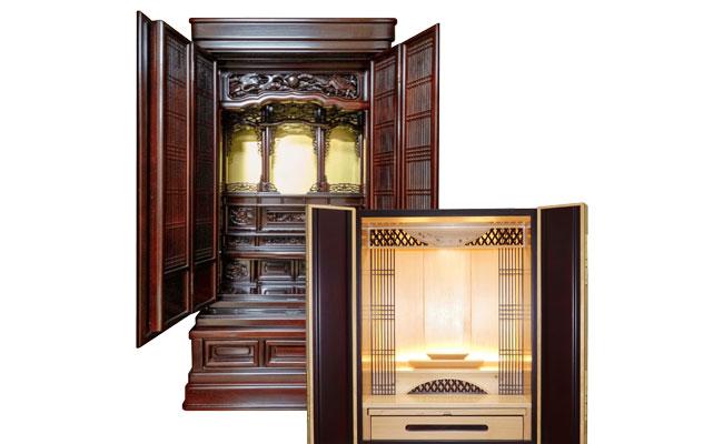 新平堂のリノベ仏壇 イメージ
