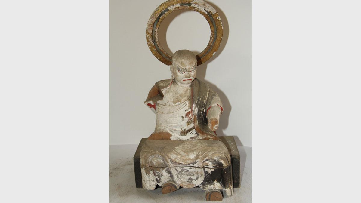 仏像修復 1