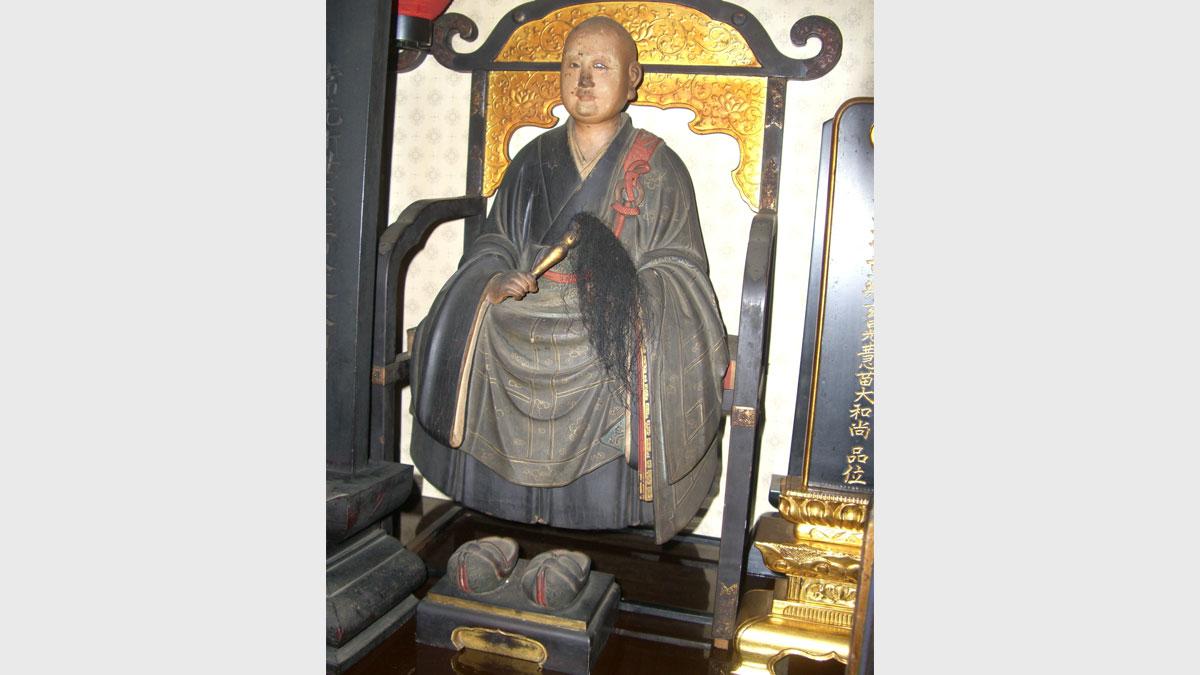 仏像修復 2