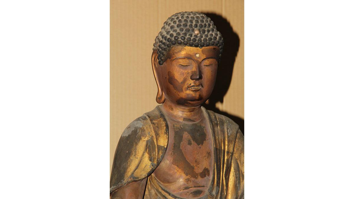 仏像修復 4