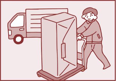 <p>ご自宅にあるお仏壇を当社工場でお預かりいたします。<br /> ※配送の手配は当社でいたします。</p>